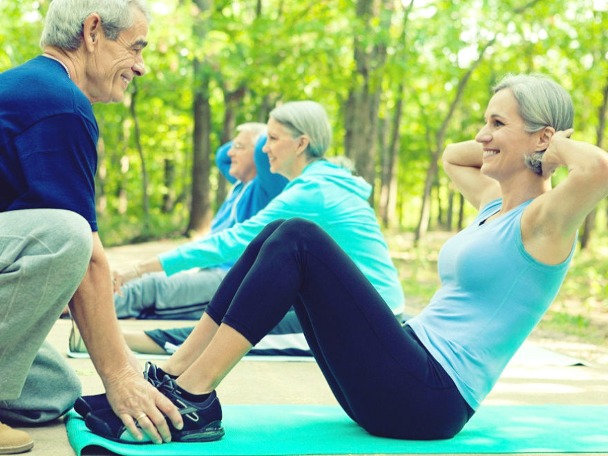 Guide to living a healthy lifestyle in an old age