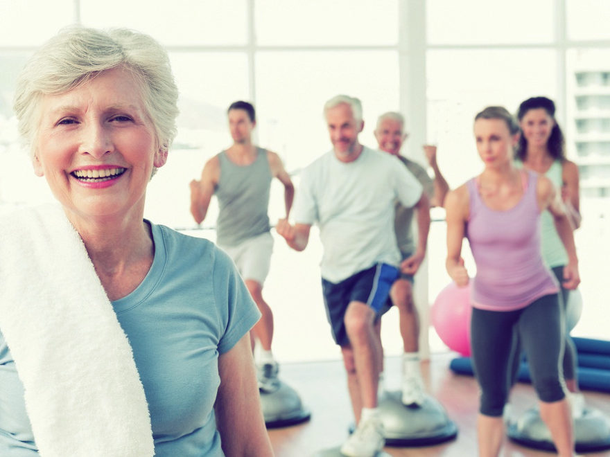 The necessity of exercise for older people